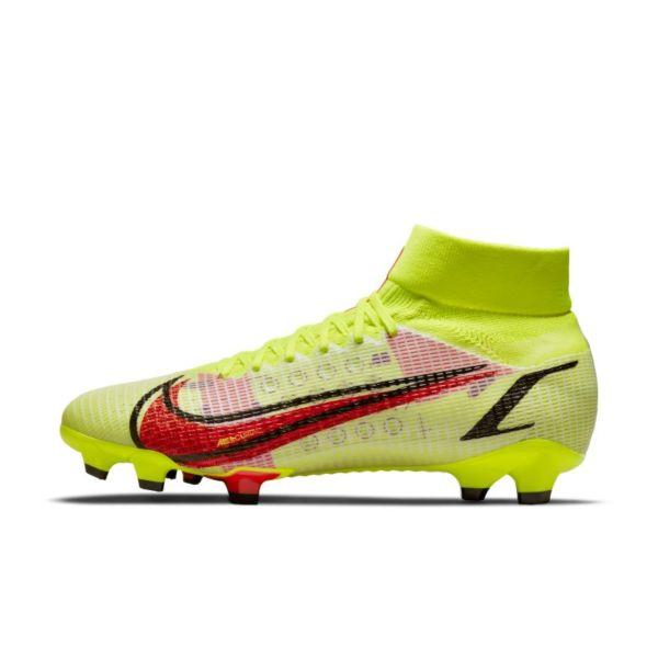Nike Mercurial Superfly 8 Pro FG Botas de fútbol para terreno firme - Amarillo