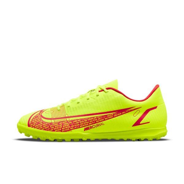 Nike Mercurial Vapor 14 Club TF Botas de fútbol para moqueta - Turf - Amarillo