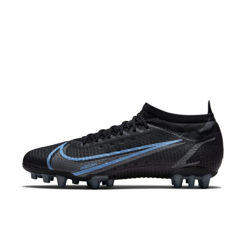 Nike Mercurial Vapor 14 Pro AG Botas de fútbol para césped artificial - Negro