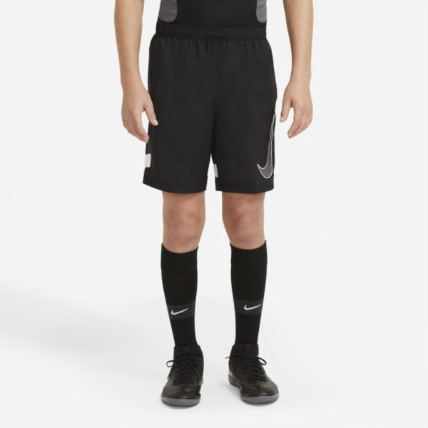 Nike Dri-FIT Academy Pantalón corto de fútbol con estampado - Niño/a - Negro