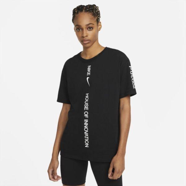 Nike Sportswear House Of Innovation (Paris) Camiseta - Mujer - Negro