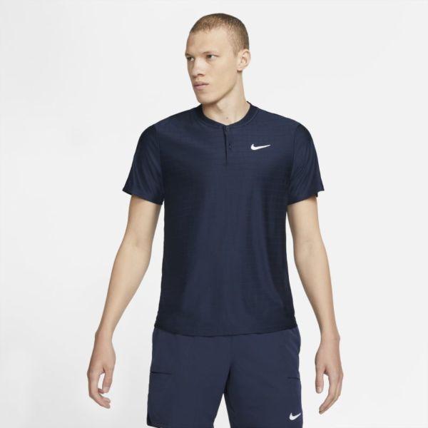 NikeCourt Dri-FIT Advantage Polo de tenis - Hombre - Azul