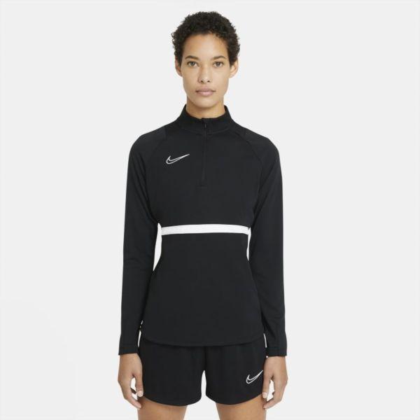 Nike Dri-FIT Academy Camiseta de fútbol de entrenamiento - Mujer - Negro