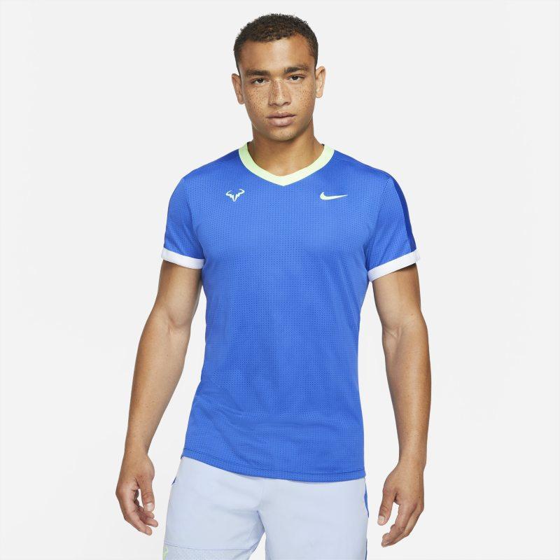 NikeCourt Dri-FIT ADV Rafa Camiseta de tenis de manga corta - Hombre - Azul