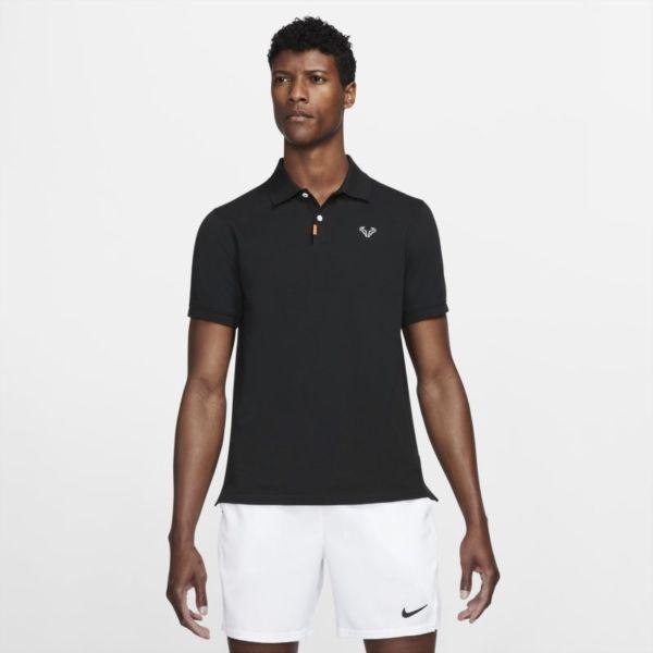 The Nike Polo Rafa Polo de ajuste entallado - Hombre - Negro