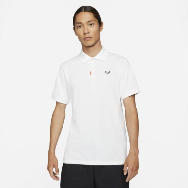 The Nike Polo Rafa Polo de ajuste entallado - Hombre - Blanco