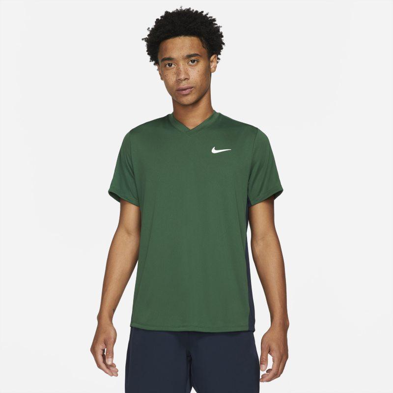 NikeCourt Dri-FIT Victory Camiseta de tenis - Hombre - Verde