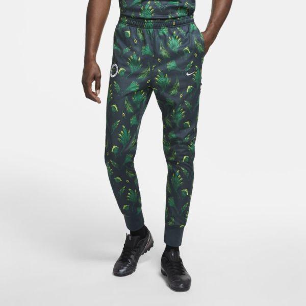 Academy Nigeria Pantalón deportivo de fútbol de tejido Knit - Hombre - Verde