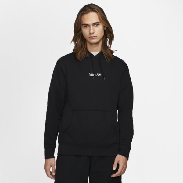 Nike SB Sudadera con capucha de skateboard con estampado - Negro