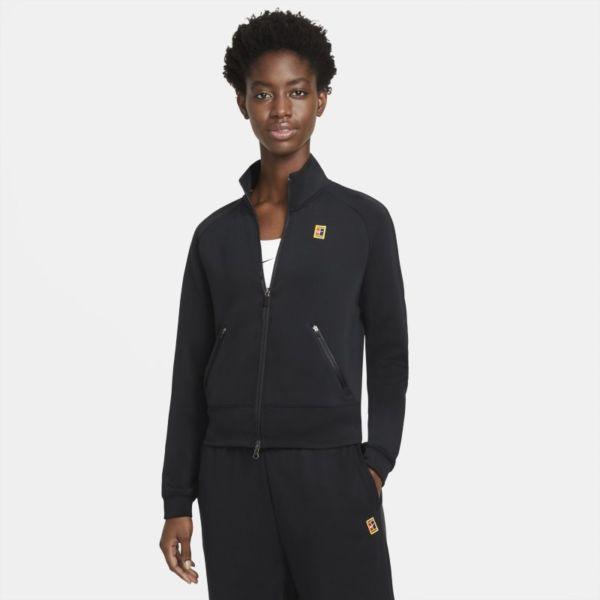 NikeCourt Chaqueta de tenis con cremallera completa - Mujer - Negro