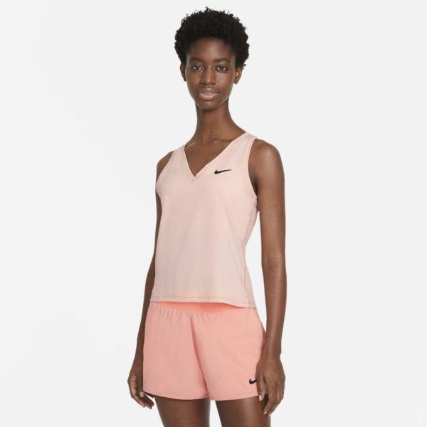 NikeCourt Victory Camiseta de tirantes de tenis - Mujer - Rosa