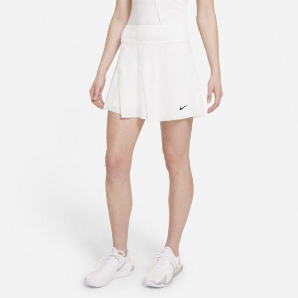 NikeCourt Dri-FIT ADV Slam Falda de tenis - Mujer - Blanco