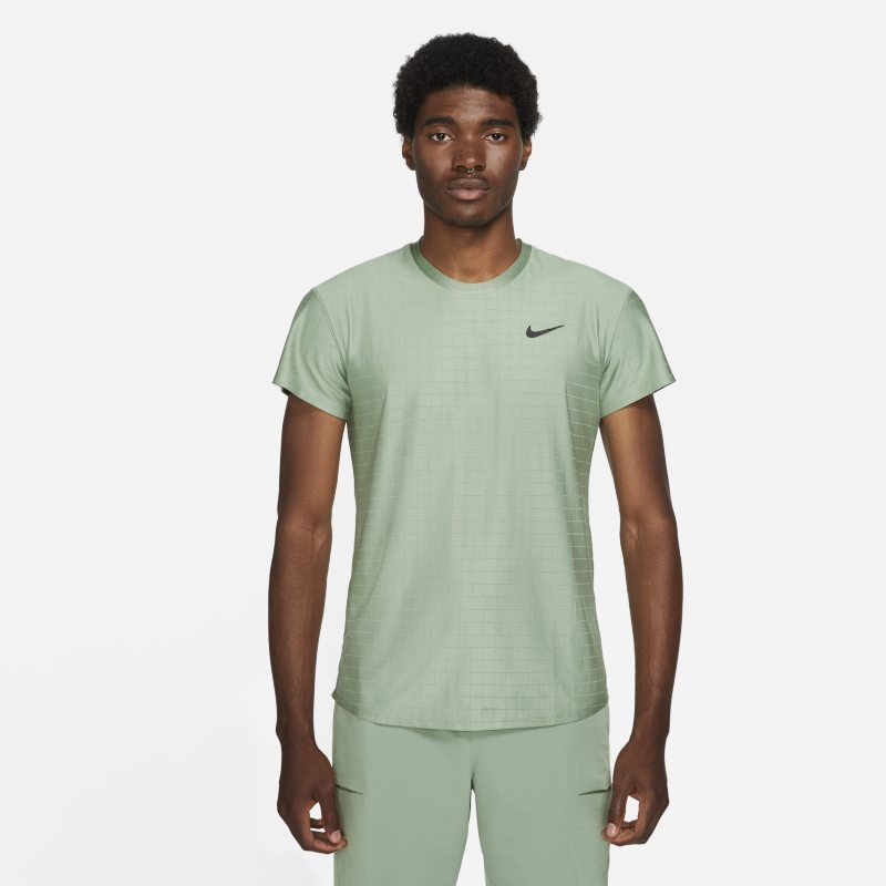 NikeCourt Dri-FIT Advantage Camiseta de tenis - Hombre - Verde