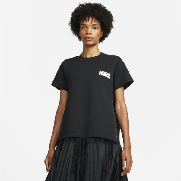 Nike x sacai Camiseta - Mujer - Negro