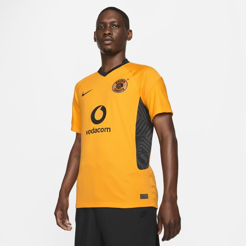 Primera equipación Stadium Kaizer Chiefs FC 2021/22 Camiseta de fútbol Nike Dri-FIT - Hombre - Amarillo