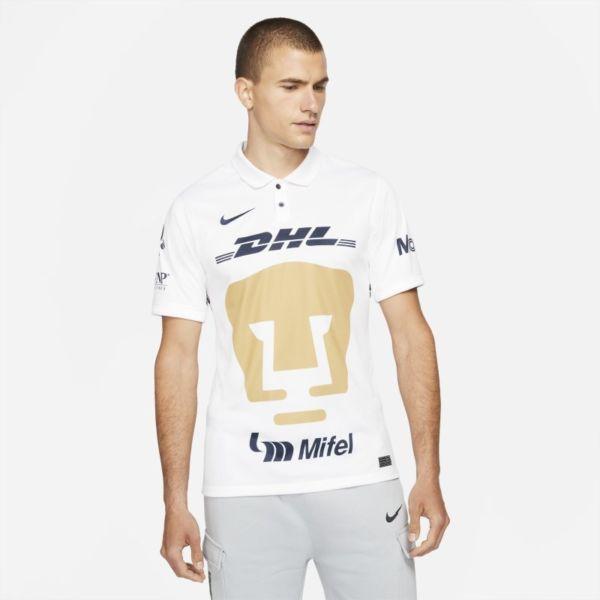 Primera equipación Stadium Pumas UNAM 2021/22 Camiseta de fútbol Nike Dri-FIT - Hombre - Blanco