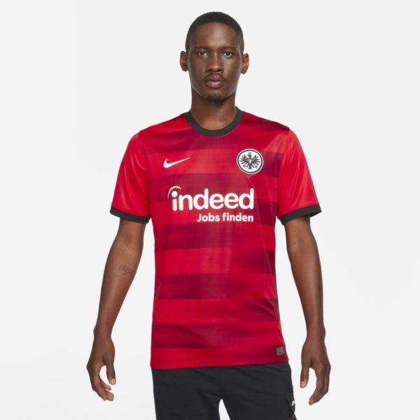 Segunda equipación Stadium Eintracht de Fráncfort 2021/22 Camiseta de fútbol - Hombre - Rojo