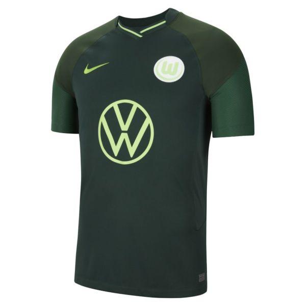 VfL Wolfsburg 2021/22 Stadium Away Camiseta de fútbol - Hombre - Verde