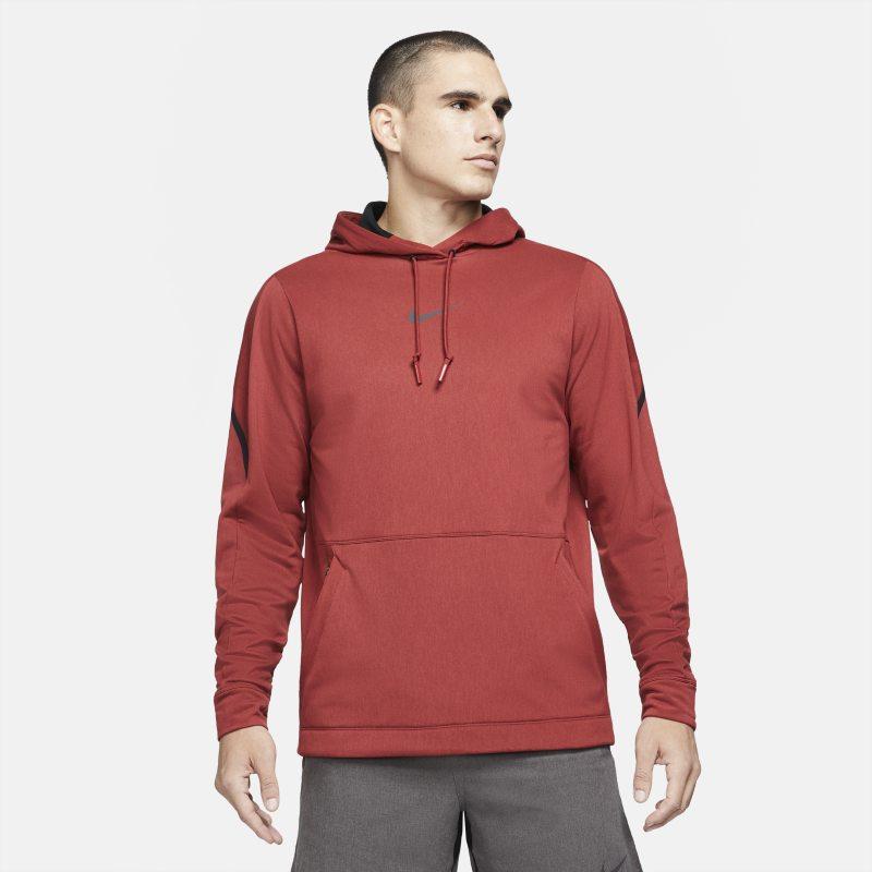 Nike Pro Sudadera con capucha - Hombre - Rojo