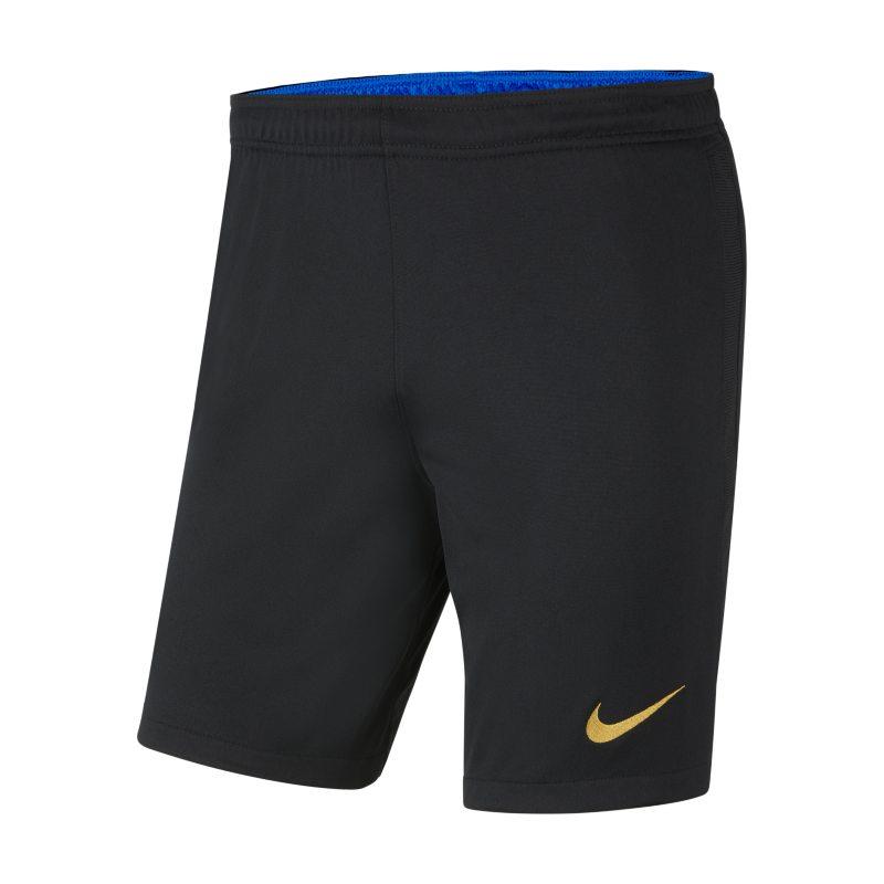Primera y segunda equipación Stadium Inter de Milán 2021/22 Pantalón corto de fútbol Nike Dri-FIT - Hombre - Negro