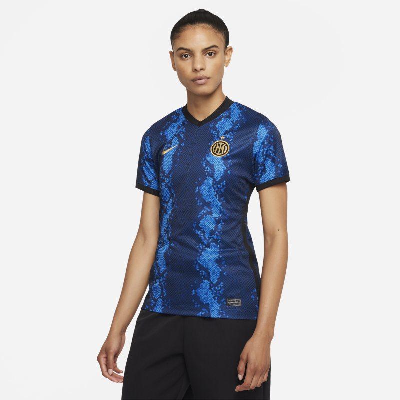 Primera equipación Stadium Inter de Milán 2021/22 Camiseta de fútbol Nike Dri-FIT - Mujer - Azul
