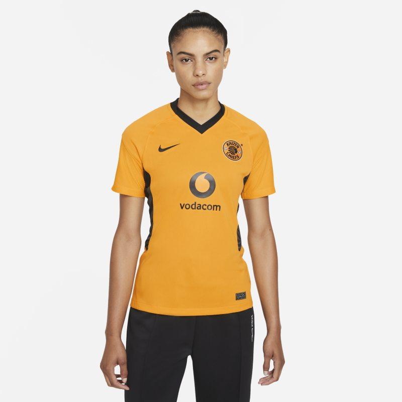 Primera equipación Stadium Kaizer Chiefs FC 2021/22 Camiseta de fútbol Nike Dri-FIT - Mujer - Amarillo