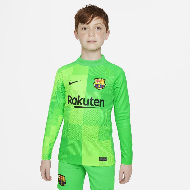 Equipación de portero Stadium FC Barcelona 2021/22 Camiseta de fútbol de manga larga - Niño/a - Verde