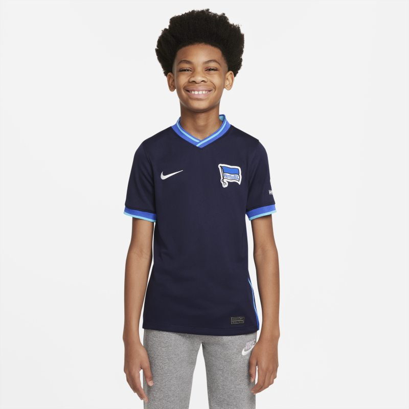 Segunda equipación Stadium Hertha BSC 2021/22 Camiseta de fútbol - Niño/a - Azul