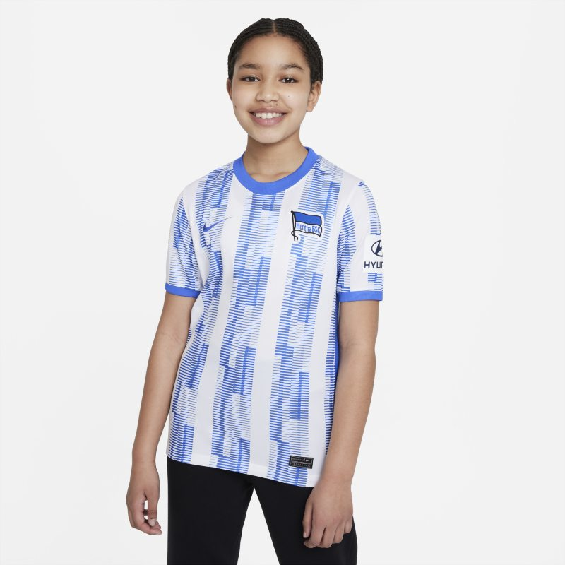 Primera equipación Stadium Hertha BSC 2021/22 Camiseta de fútbol - Niño/a - Blanco