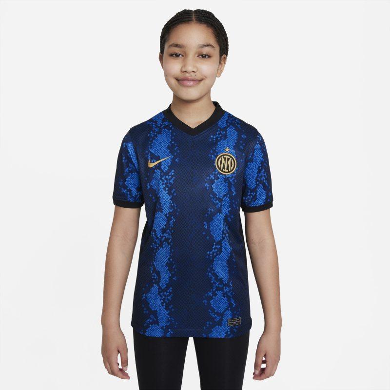 Primera equipación Stadium Inter de Milán 2021/22 Camiseta de fútbol Nike Dri-FIT - Niño/a - Azul