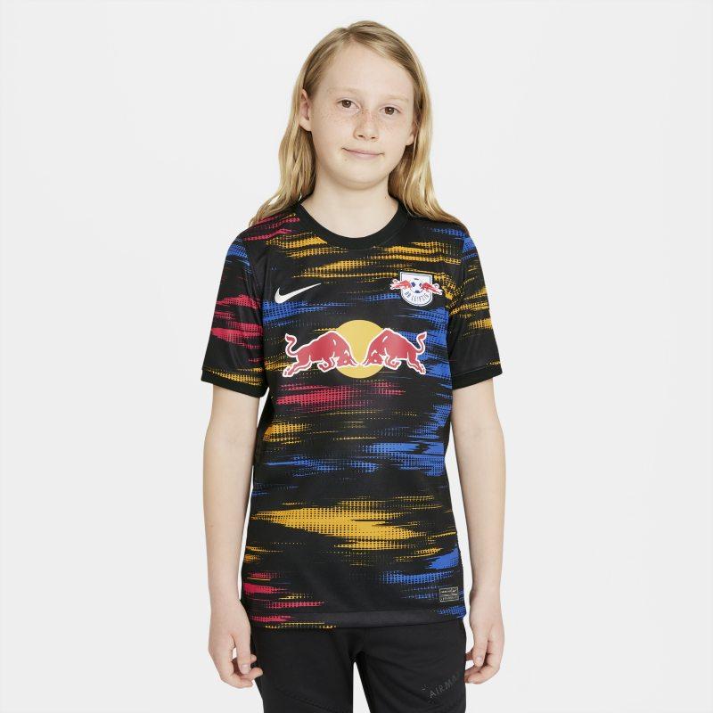 Segunda equipación Stadium RB Leipzig 2021/22 Camiseta de fútbol - Niño/a - Negro