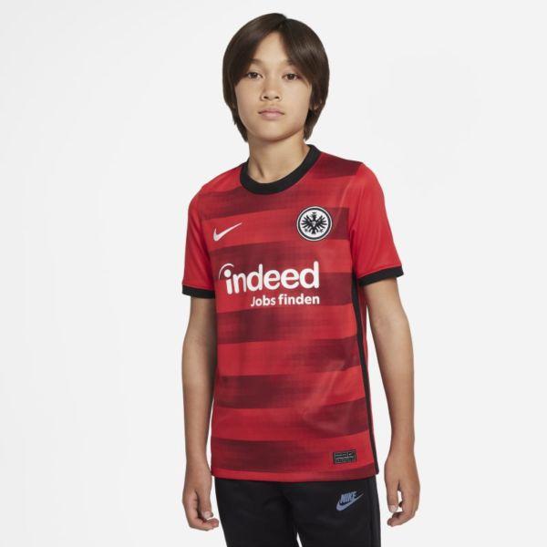 Segunda equipación Stadium Eintracht de Fráncfort 2021/22 Camiseta de fútbol - Niño/a - Rojo