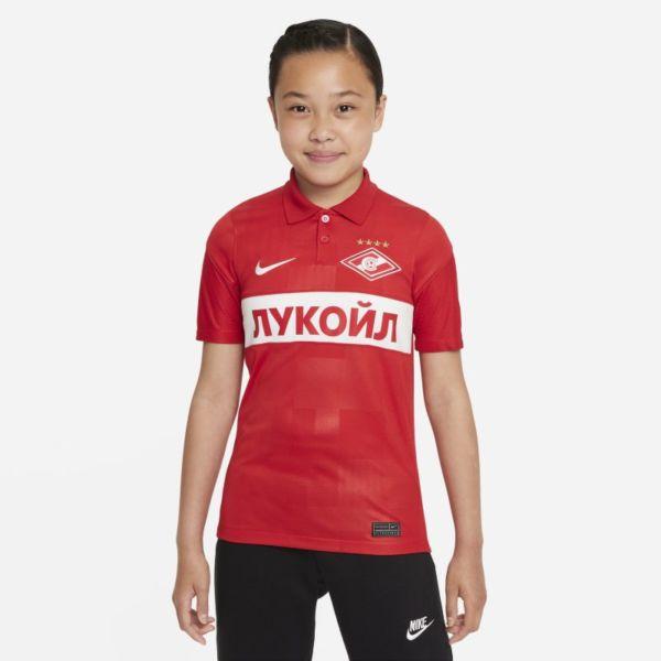 Primera equipación Stadium Spartak de Moscú 2021/22 Camiseta de fútbol Nike Dri-FIT - Niño/a - Rojo