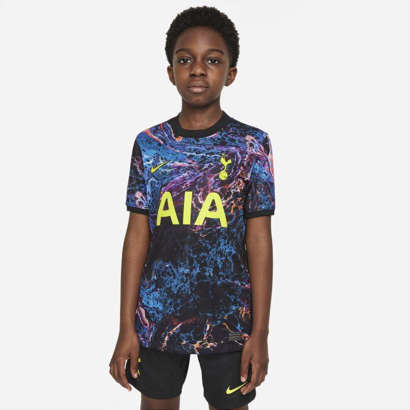 Segunda equipación Stadium Tottenham Hotspur 2021/22 Camiseta de fútbol - Niño/a - Negro