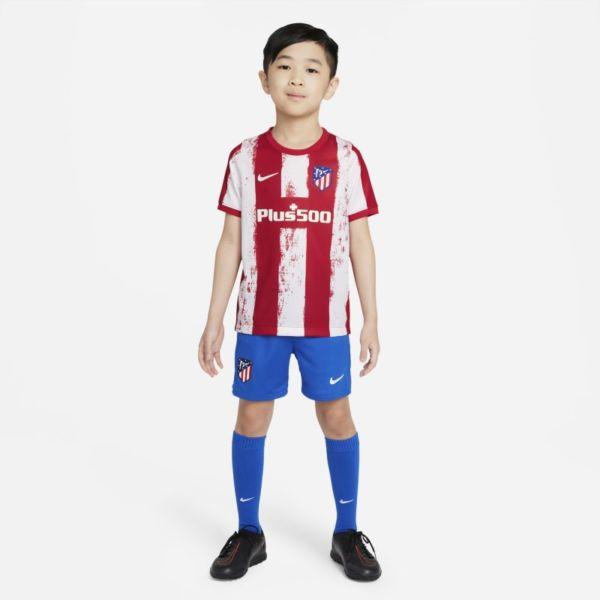 Primera equipación Atlético de Madrid 2021/22 Equipación de fútbol - Niño/a pequeño/a - Rojo