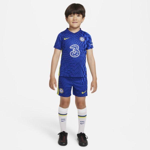 Primera equipación Chelsea FC 2021/22 Equipación de fútbol - Niño/a pequeño/a - Azul