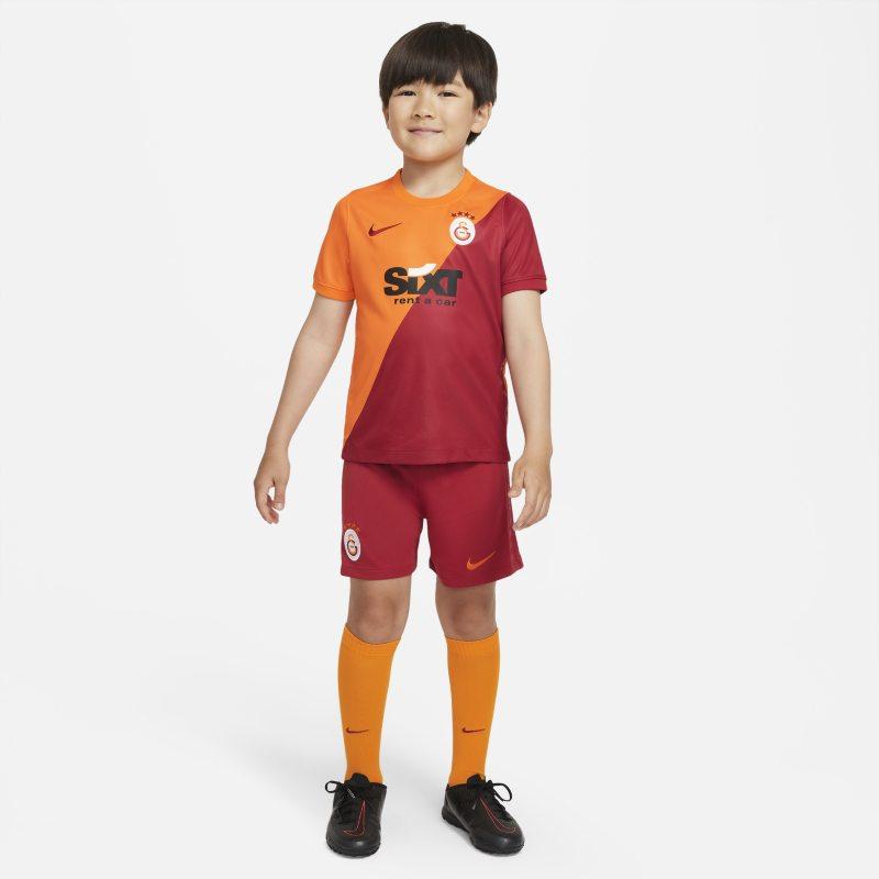 Primera equipación Galatasaray 2021/22 Equipación de fútbol - Niño/a pequeño/a - Naranja