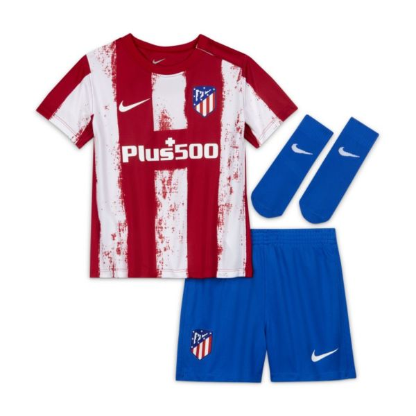 Primera equipación Atlético de Madrid 2021/22 Equipación de fútbol - Bebé e infantil - Rojo