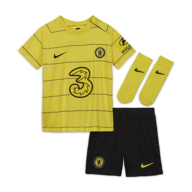 Segunda equipación Chelsea FC 2021/22 Equipación de fútbol - Bebé e infantil - Amarillo