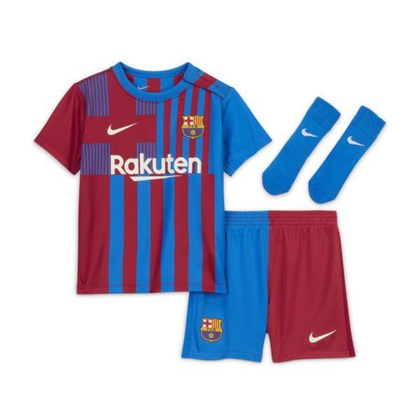 Primera equipación FC Barcelona 2021/22 Equipación de fútbol - Bebé e infantil - Azul