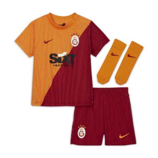 Primera equipación Galatasaray 2021/22 Equipación de fútbol - Bebé e infantil - Naranja