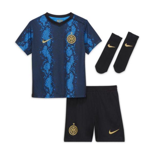 Primera equipación Inter de Milán 2021/22 Equipación de fútbol - Bebé e infantil - Azul