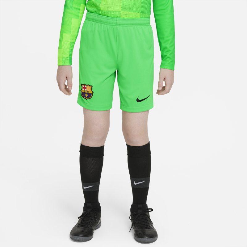 Equipación de portero Stadium FC Barcelona 2021/22 Pantalón corto de fútbol - Niño/a - Verde