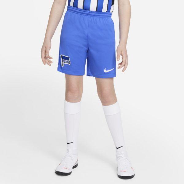 Primera equipación Stadium Hertha BSC 2021/22 Pantalón corto de fútbol - Niño/a - Azul