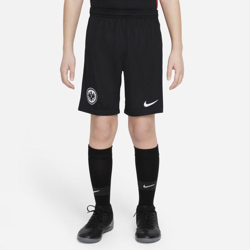 Primera equipación Stadium Eintracht de Fráncfort 2021/22 Pantalón corto de fútbol - Niño/a - Negro