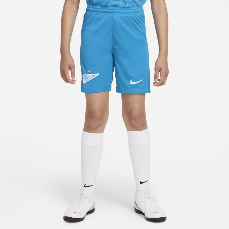 Primera equipación Stadium Zenit San Petersburgo 2021/22 Pantalón corto de fútbol Nike Dri-FIT - Niño/a - Azul