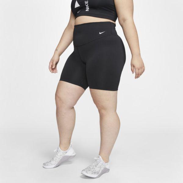 Nike One Pantalón corto de 18 cm - Mujer - Negro