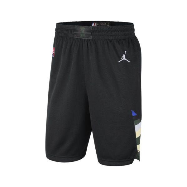 Bucks Statement Edition 2020 Pantalón corto Jordan NBA Swingman - Hombre - Negro
