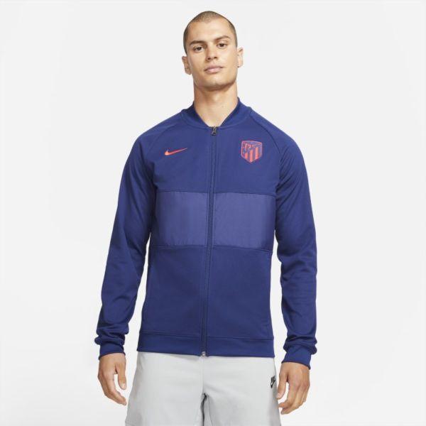 Atlético de Madrid Chaqueta deportiva de fútbol con cremallera completa - Hombre - Azul