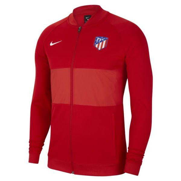 Atlético de Madrid Chaqueta deportiva de fútbol con cremallera completa - Hombre - Rojo